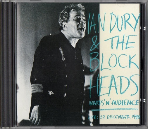 Ian Dury & The Blockheads / Warts 'N' Audience (Live: 22 December 1990.) (輸入盤CD) イアン・デューリー
