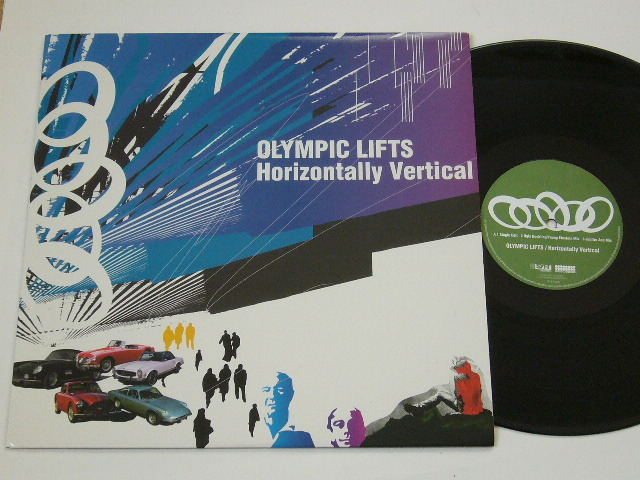 OLYMPIC LIFTS/HORIZONTALLY VERTICAL/ UGLY DUCKLING REMIX / CUBISMO GRAFICO MIX / 2002年盤 / SYFT-026 / JAPAN盤 / 試聴検査済み_画像1