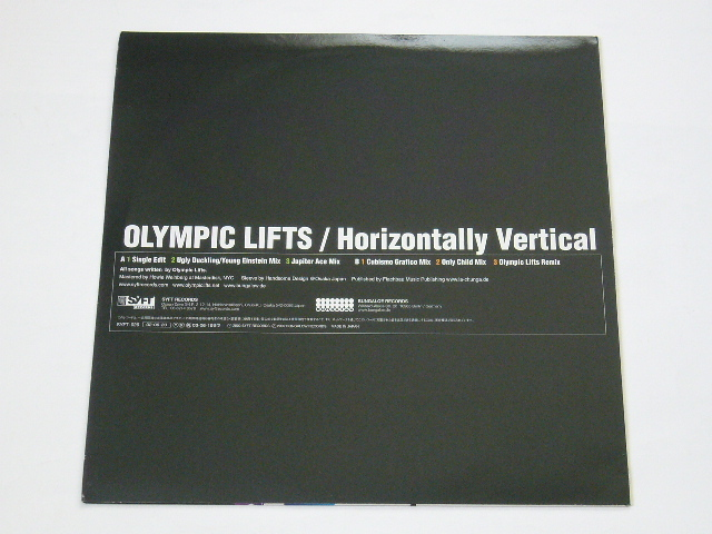 OLYMPIC LIFTS/HORIZONTALLY VERTICAL/ UGLY DUCKLING REMIX / CUBISMO GRAFICO MIX / 2002年盤 / SYFT-026 / JAPAN盤 / 試聴検査済み_画像2