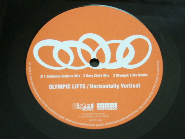 OLYMPIC LIFTS/HORIZONTALLY VERTICAL/ UGLY DUCKLING REMIX / CUBISMO GRAFICO MIX / 2002年盤 / SYFT-026 / JAPAN盤 / 試聴検査済み_画像4