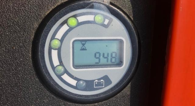 格安!トヨタ 電動 ハンドリフト パレットトラック バッテリー式 1300㎏ 中古 フォークリフト_画像7