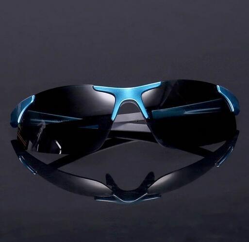DAIWAダイワのポリカーボネイト偏光サングラス (A ブルー) 釣り・マラソン・ゴルフ・ドライブ等に適用