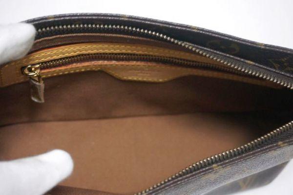 【極美品】ルイヴィトン モノグラム トロター 斜め掛け ショルダーバッグ 鞄 正規品 保護シール付 M51240 Louis Vuitton _画像8