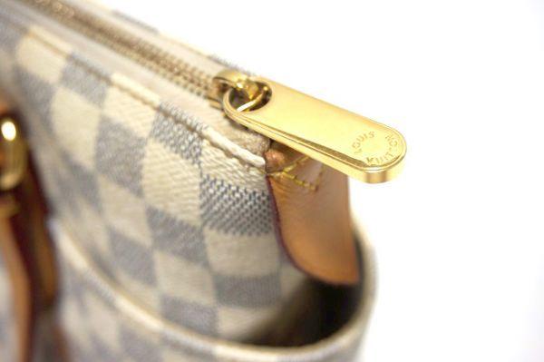 【極美品 袋付】ルイヴィトン ダミエ アズール ダミエアズール トータリーPM N51261 ショルダーバッグ  鞄 正規品 LV _画像9
