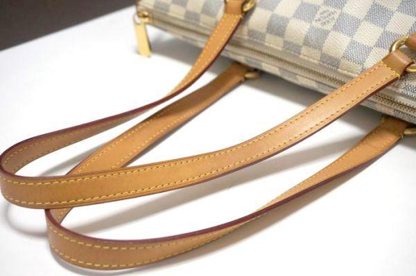 【極美品 袋付】ルイヴィトン ダミエ アズール ダミエアズール トータリーPM N51261 ショルダーバッグ  鞄 正規品 LV _画像7