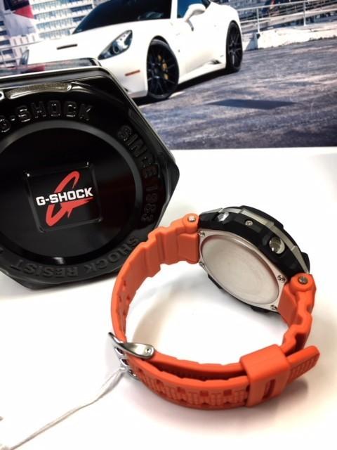 新品 CASIO カシオ Gショック G-SHOCK 正規品 電波ソーラー 腕時計 スカイコックピット SKY COCKPIT アナログ 電波 時計 オレンジ_画像9