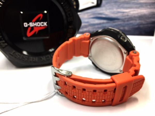 新品 CASIO カシオ Gショック G-SHOCK 正規品 電波ソーラー 腕時計 スカイコックピット SKY COCKPIT アナログ 電波 時計 オレンジ_画像8