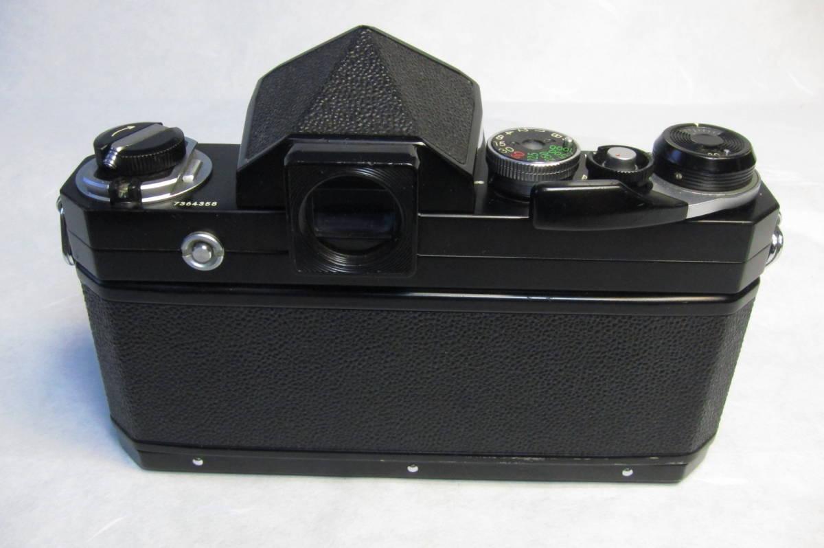 NEW Nikon F Brack ニコンF 後期型 ブラックボディ ニッコール 50mm 1:2付_画像3