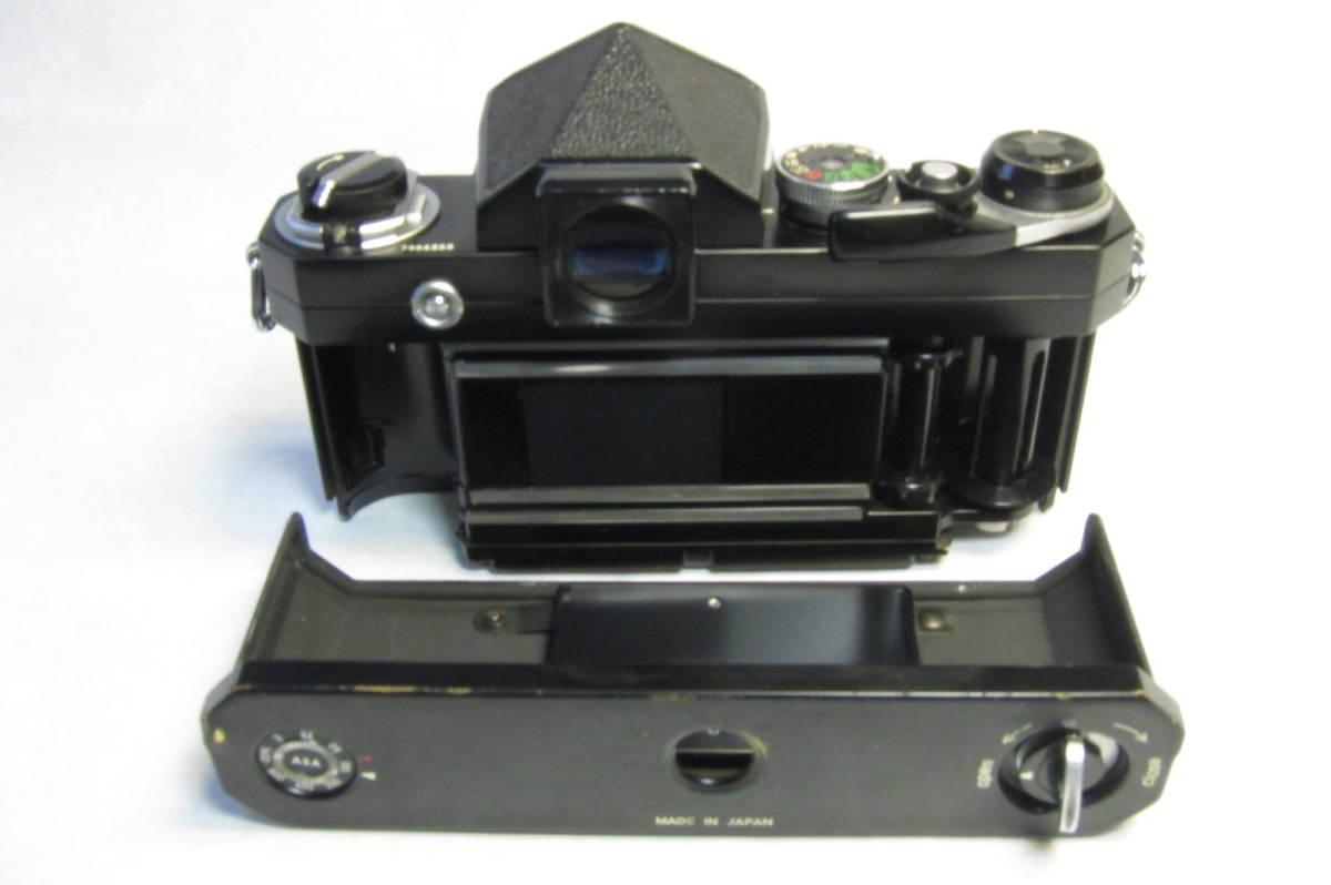 NEW Nikon F Brack ニコンF 後期型 ブラックボディ ニッコール 50mm 1:2付_画像6