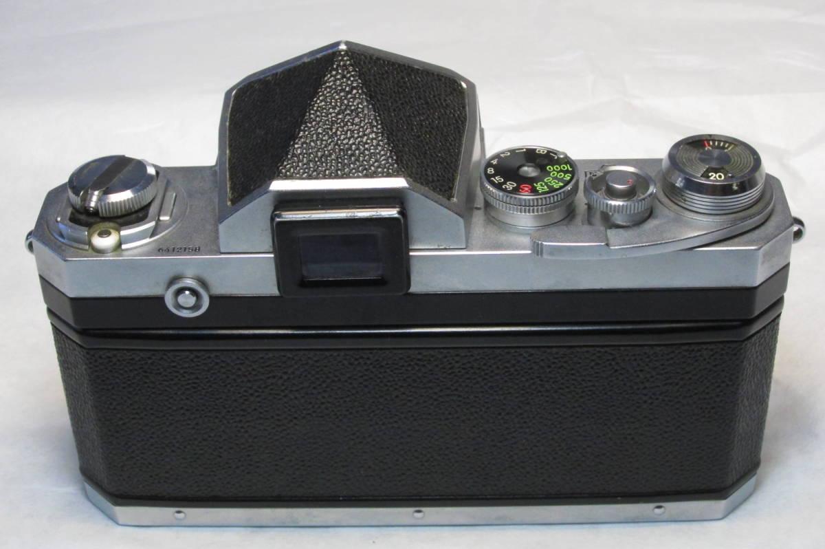 初期型 ニコン NIKON F 641万台 オリジナル 元箱付_画像3