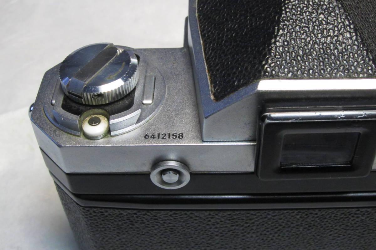 初期型 ニコン NIKON F 641万台 オリジナル 元箱付_画像9