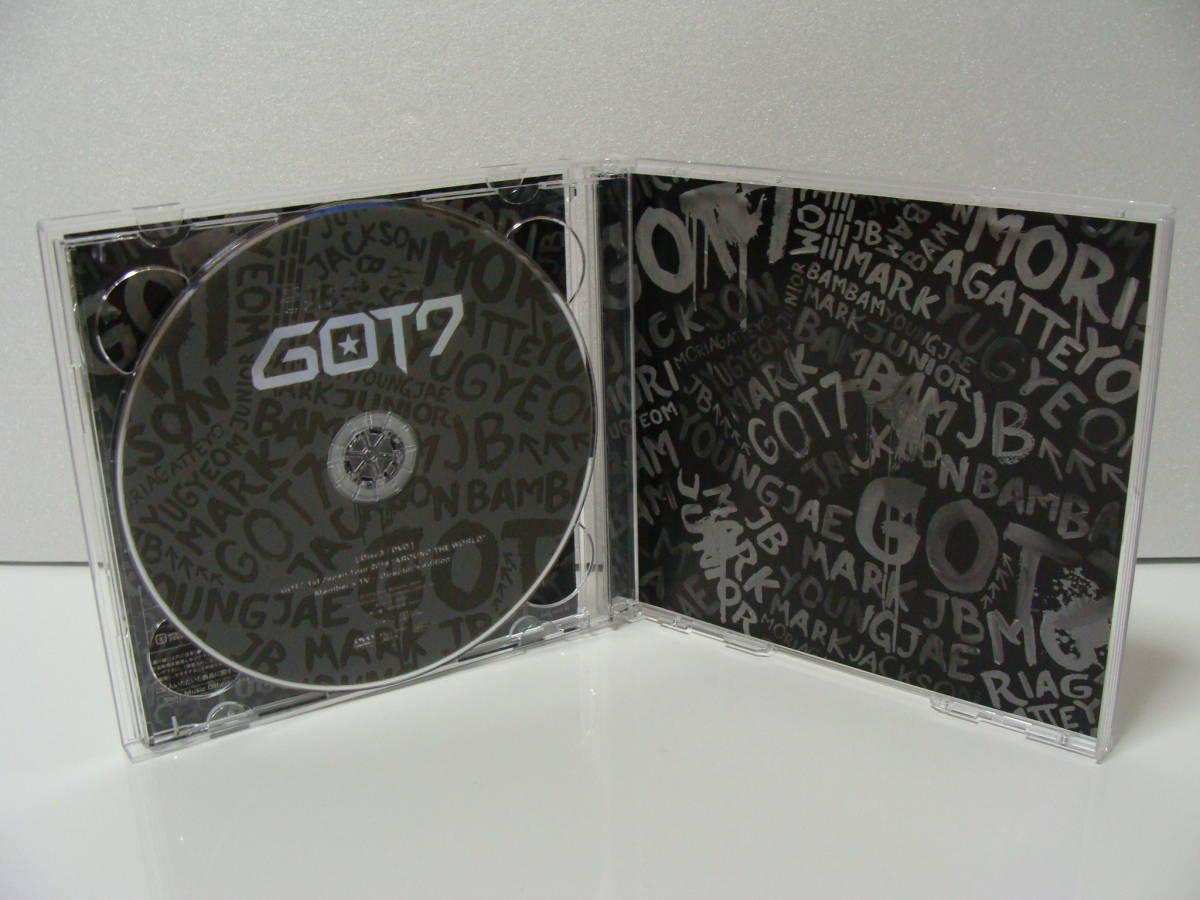 【ワケあり品】 GOT7 モリ↑ガッテヨ モリアガッテヨ 【初回限定盤AのDisc2&Disc3のみ】_画像4