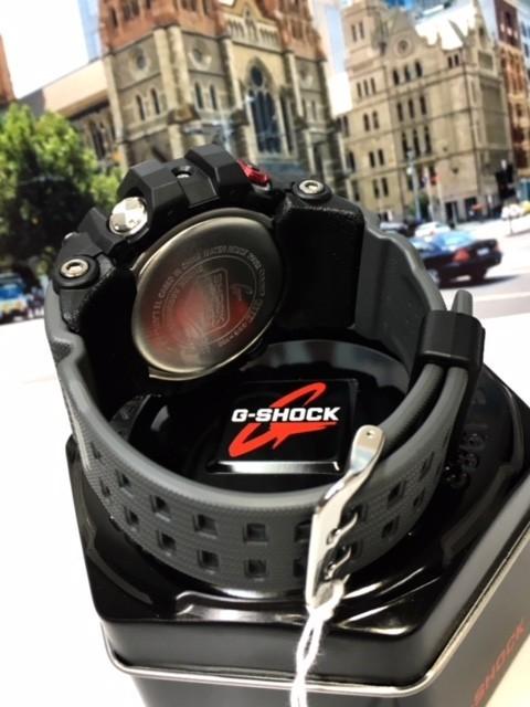 新品 カシオ CASIO Gショック G-SHOCK 正規品 MUDMASTER マッドマスター 腕時計 タフソーラー ソーラー 時計 ブラック レッド 樹脂バンド_画像8