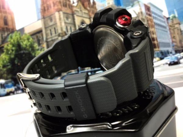 新品 カシオ CASIO Gショック G-SHOCK 正規品 MUDMASTER マッドマスター 腕時計 タフソーラー ソーラー 時計 ブラック レッド 樹脂バンド_画像7