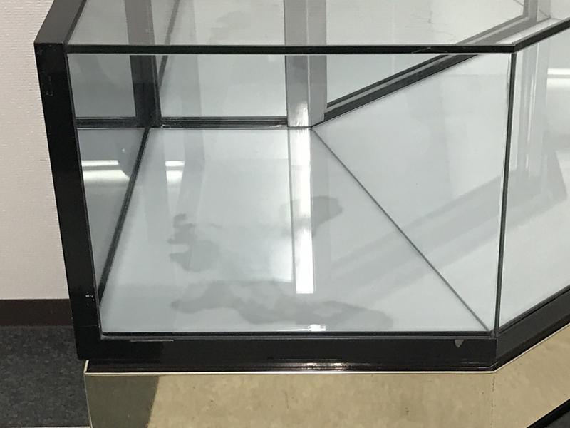 ガラスショーケース 金券・ブランドショップ 【コーナーケース L字】 対面販売 愛知県 引取限_画像8