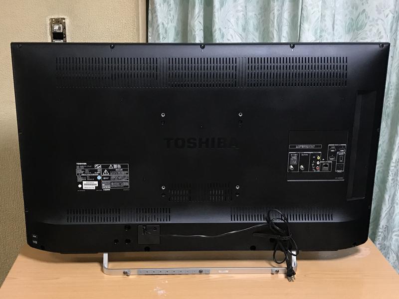 画面(パネル) 新品交換済み 東芝 レグザ 液晶テレビ 42V型 【REGZA 42J8】 デジタルハイビジョン 14年製_画像2