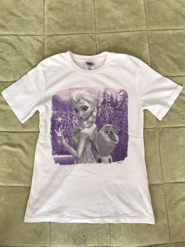 ジャンクフード Tシャツ キッズ アナと雪の女王