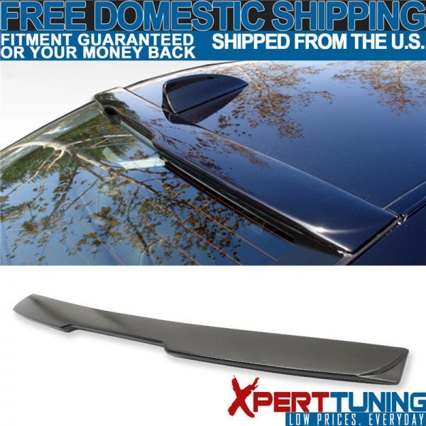 04-10 BMW 5 Series E60 A Style Roof Spoiler Painted Matte Black