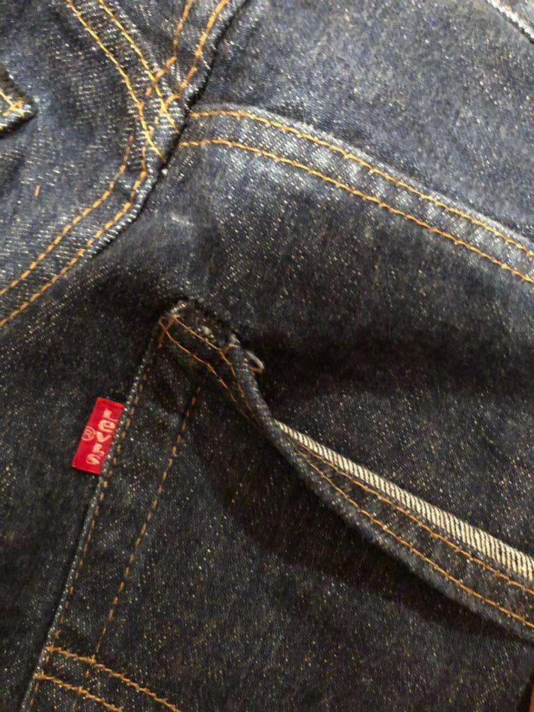 美品 リーバイス 505 66前期 W33~34 オリジナル 黒カンヌキ 501_画像4
