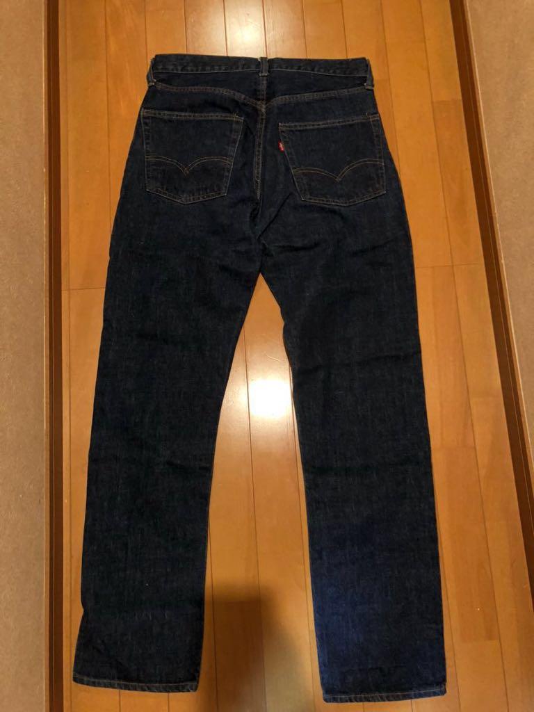 美品 リーバイス 505 66前期 W33~34 オリジナル 黒カンヌキ 501