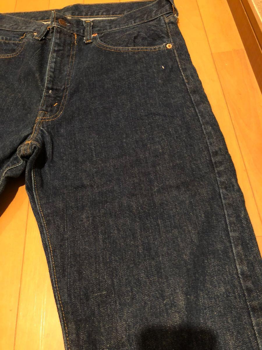 美品 リーバイス 505 66前期 W33~34 オリジナル 黒カンヌキ 501_画像10