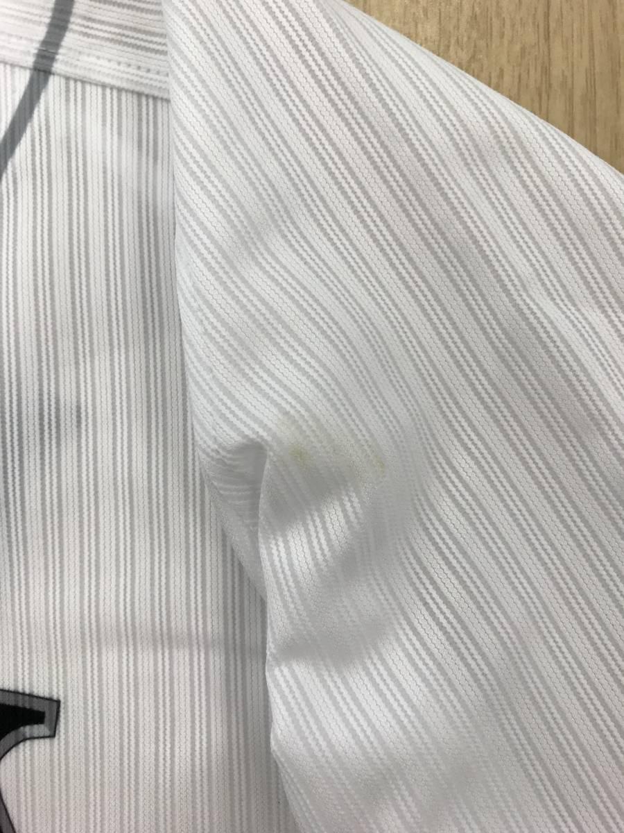 [チャリティ] 福岡ソフトバンクホークス 松田宣浩選手 マイナビオールスターゲーム2018着用 直筆サイン入りユニフォーム rfp1153_画像4