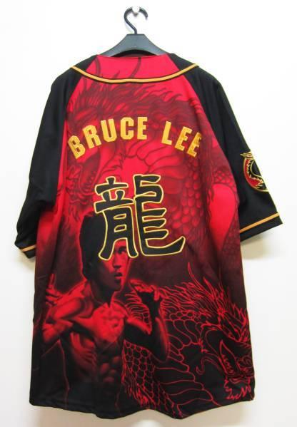 【お宝】ブルース・リー★ザ・ドラゴン 公式シャツ【L】BRUCE LEE_画像2