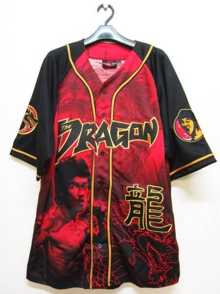 【お宝】ブルース・リー★ザ・ドラゴン 公式シャツ【L】BRUCE LEE_画像1