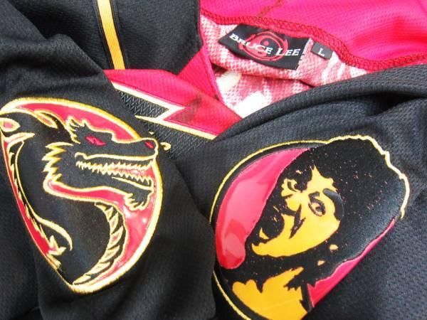 【お宝】ブルース・リー★ザ・ドラゴン 公式シャツ【L】BRUCE LEE_画像3
