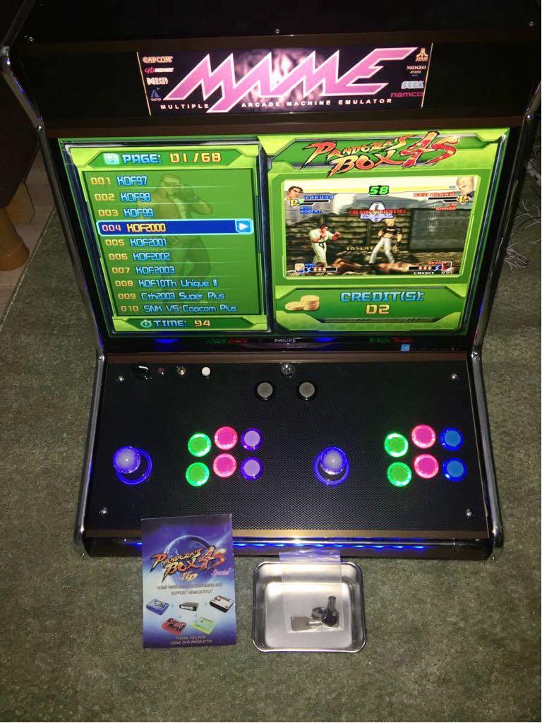 アーケード 筐体 Pandorabox4s エミュレータ ゲーム