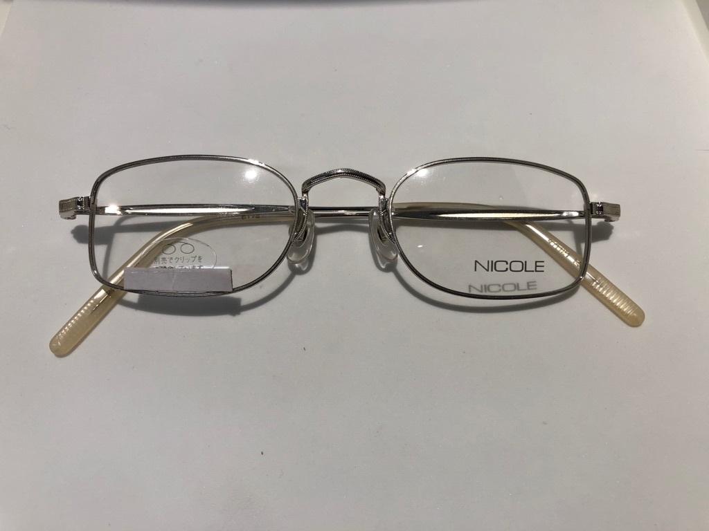 S3 即決 NICOLE ニコル メガネフレーム 2172 デットストック ビンテージ めがね 眼鏡 未使用 値下げ交渉 _画像1
