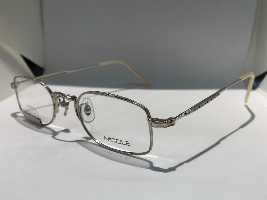 S3 即決 NICOLE ニコル メガネフレーム 2172 デットストック ビンテージ めがね 眼鏡 未使用 値下げ交渉 _画像3