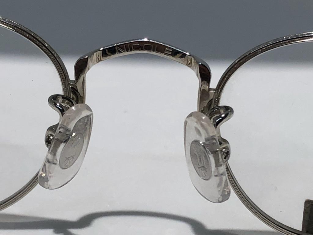 S3 即決 NICOLE ニコル メガネフレーム 2172 デットストック ビンテージ めがね 眼鏡 未使用 値下げ交渉 _画像5