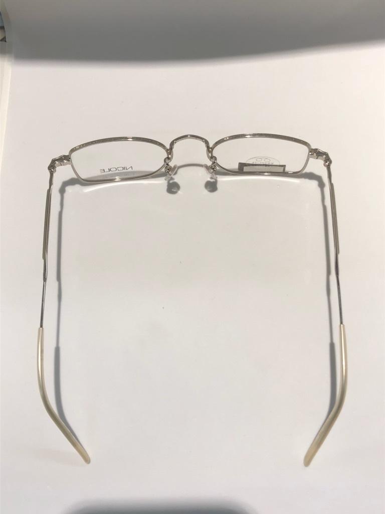 S3 即決 NICOLE ニコル メガネフレーム 2172 デットストック ビンテージ めがね 眼鏡 未使用 値下げ交渉 _画像7