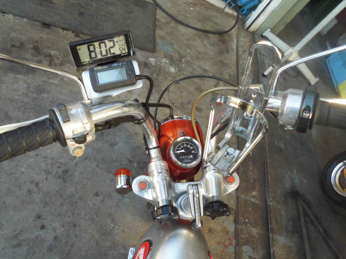 モンキーA型 両手ブレーキ106cc遠心5速 カスタム室内保管美品_画像4