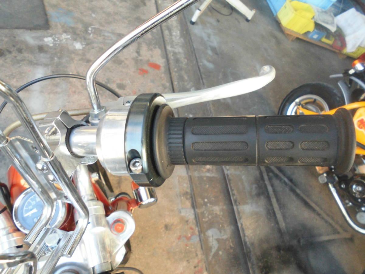 モンキーA型 両手ブレーキ106cc遠心5速 カスタム室内保管美品_画像6