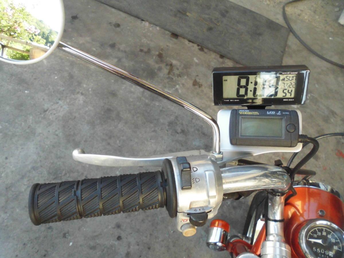 モンキーA型 両手ブレーキ106cc遠心5速 カスタム室内保管美品_画像7