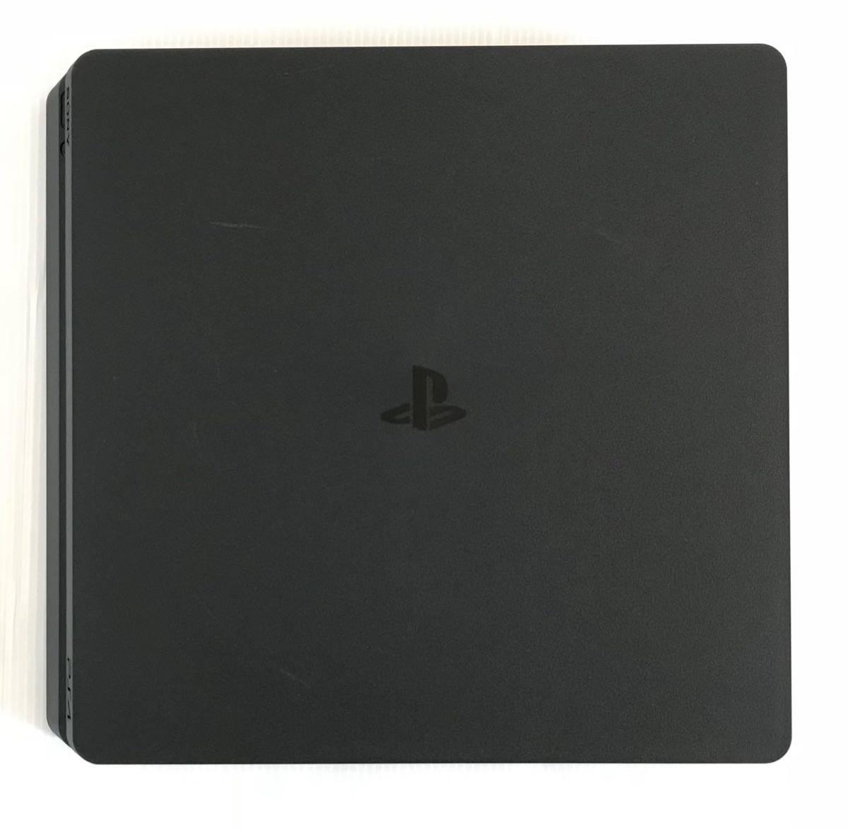 1円スタート ☆ PS4 500GB 黒 CUH-2000A ジェット ブラック 本体 電源コード HDMI USB 箱付き 動作確認済み 動作良好品 SONY プレステ4_画像2