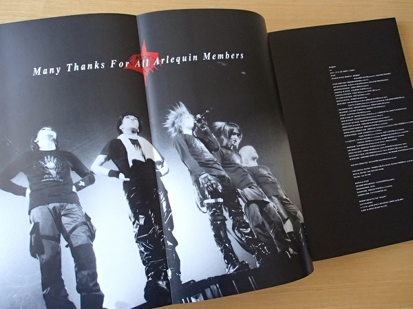 PIERROT FCアルル限定 写真集 cher Arlequin TOUR1999 美品 ピエロ キリト_画像2
