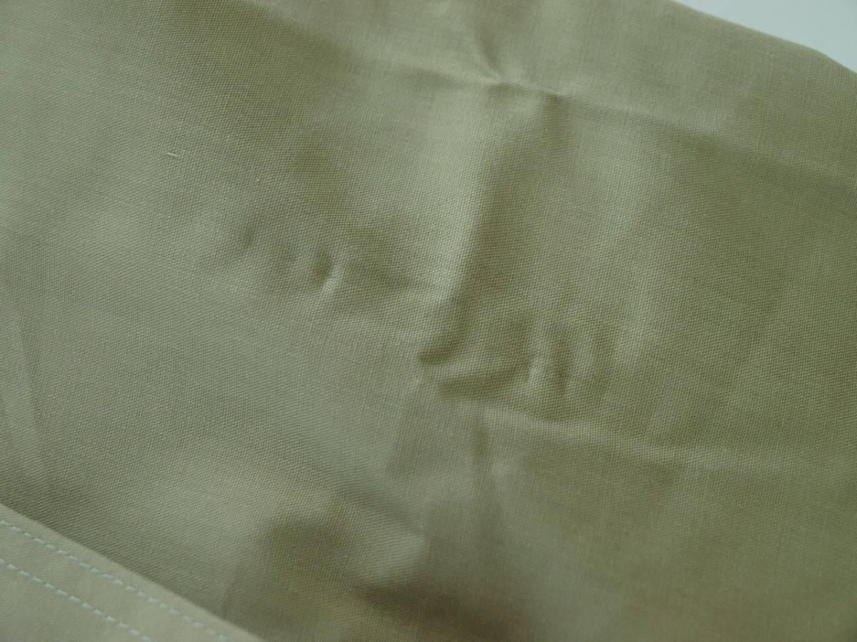 ♪服1949♪ 長袖 絹10%混紡のワイシャツ フラップ(ふた)付きポケット BOUTON 日本製 M-80 未使用品 (クリポス発送可) ~iiitomo~_現状はシワがあります