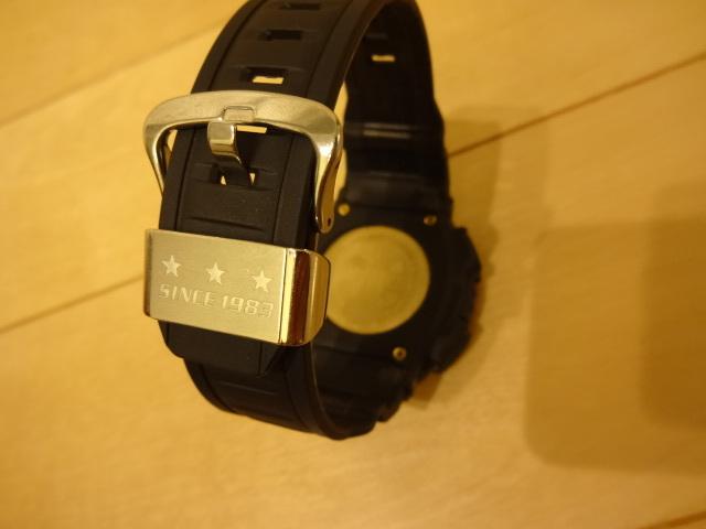 美品 CASIO G-SHOCK MUDMAN 30th ANNIVERSARY initial blue GW-9330B-1JR_画像3