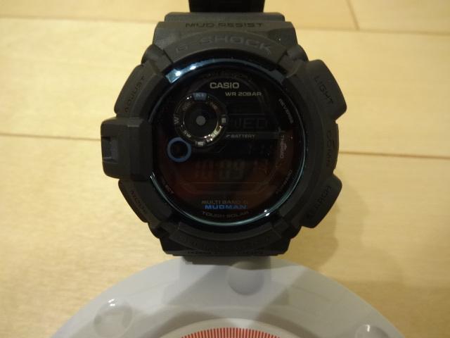 美品 CASIO G-SHOCK MUDMAN 30th ANNIVERSARY initial blue GW-9330B-1JR_画像7