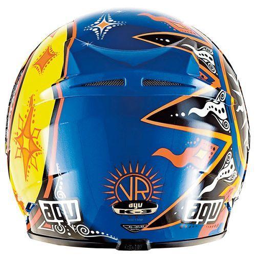 【在庫限り】AGV K3 MOTO-GP ロッシ46 ヘルメット♪_画像3