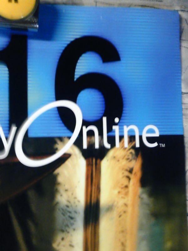 AM3a【B2ポスター515x728】ファイナルファンタジーXI/スクウェア エニックス/PlayStation on line告知用非売品ポスター_画像2