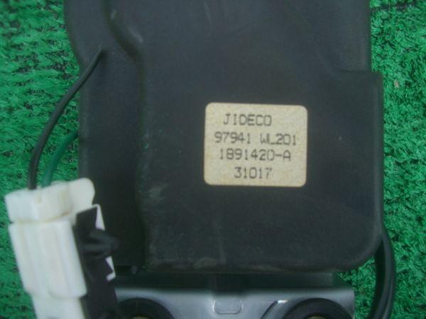 H15 日産 エルグランド ライダー 純正 前期 ME51/NE51/E51/MNE51/左/スライドドア/オートロックソレノイド/電装/100630_画像3