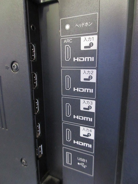 7088E◎SHARP シャープ アクオス 60V型 液晶テレビ LC-60Z5 3D対応◎中古_画像5