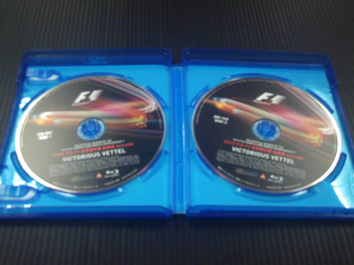 ID088 中古品◇BD【2012 FIA F1世界選手権総集編 完全日本語版 BD版 [Blu-ray] セル品 】_画像3