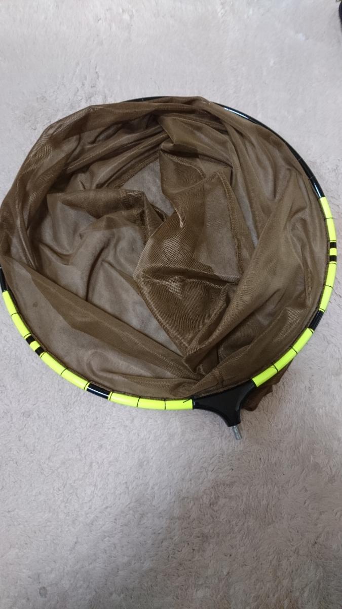 へら 玉の柄:玉網大小2枚付きケース付き: 新品同様_画像6