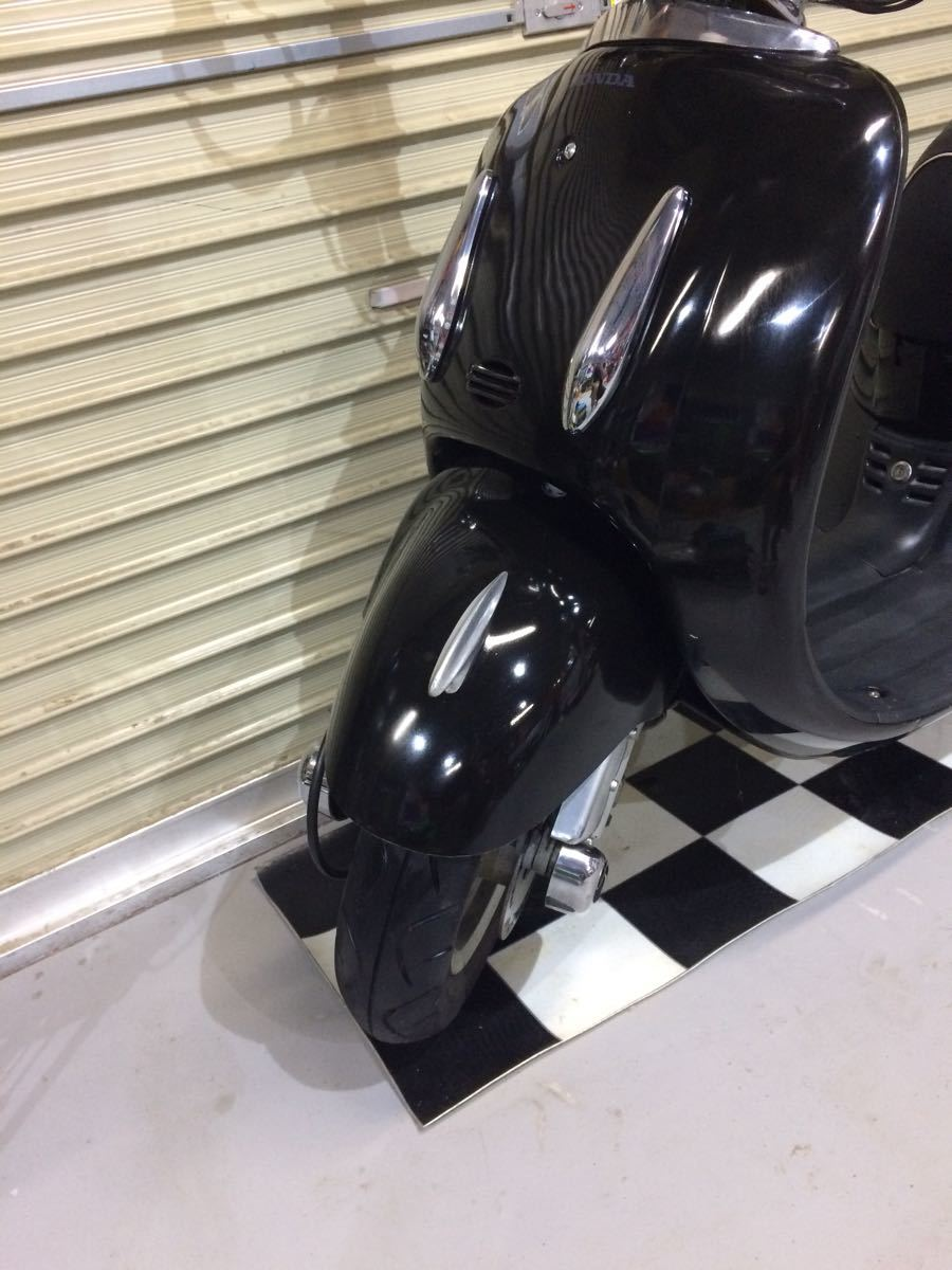 埼玉県深谷市 ホンダ ジョーカー AF42 原付 50cc 通勤 通学 アメリカンスクーター カスタム _画像5