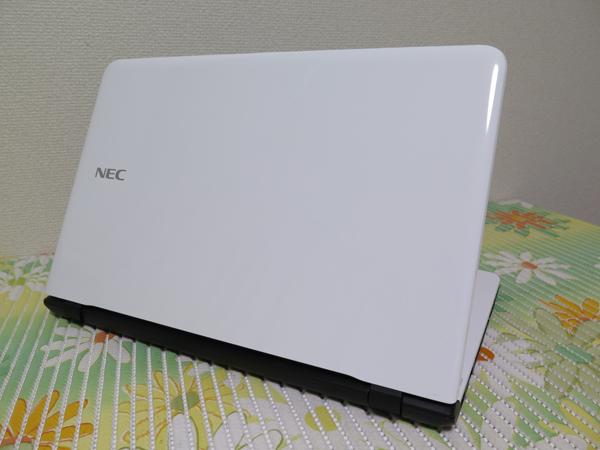 【2015年モデル★爆速新SSD360GB】NS150/A NEC ホワイト 高速CPU(Broadwell) 最新Windows10 ★ メモリ4GB Blu-ray Wi-Fi HDMI Office2016_画像3